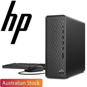 HP Slim Desktop S01 Pentium Silver J5040 8GB RAM 256GB SSD Win10 Home Desktop PC
