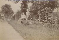 Snapshot Fotografia Originale Vintage Citrato Ca 1900 ND71
