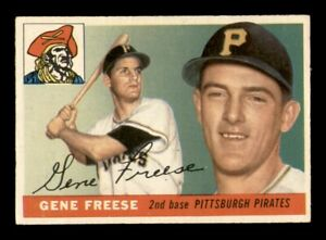 1955 Topps Set Break # 205 Gene Freese EX *OBGcards*