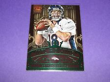 2012 Crown Royale PEYTON MANNING #8 Regime Green SP/10 Denver BRONCOS Volunteers