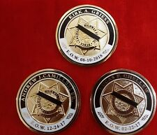 CHP OFFICER CHELLEW CAMILLERI GRIESS MEMORIAL COINS (LAPD NYPD