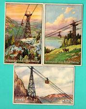 Germany ERDAL KWAK Funicular lot of 6 Vintage cards 216