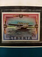 Dornier DO X Seaplane Airplane Stamp Issued by Liberia 1977 Mint / Unused
