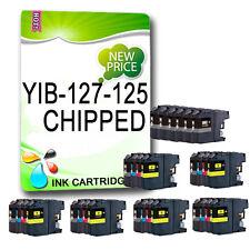 30Chipped Ink Cartridge Replace For DCPJ4110DW MFCJ4410DW MFCJ4510DW LC127 LC125