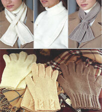 4 Ply Girls Scarves Crocheting Knitting Patterns For Sale Ebay
