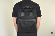 Authentic MICHAEL KORS PC Notebook Black Backpack Leather Crafted Shoulder Bag