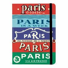 Cavallini - City Guide Notebook - Paris - 208 pages - Underground/Metro Map Incl