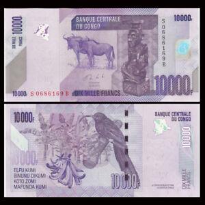 Congo Democratic Republic 10000 Francs,  2013, P-103, UNC