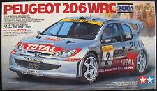TAMIYA 24236 - PEUGEOT 206 WRC 2001 - 1:24 - Auto Modellbausatz - Model Kit