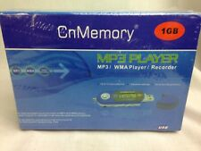 MP3 Player 1GB WMA Player/Recorder Use As A Dictaphone New & Sealed