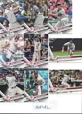 2017 Topps 2 New York Yankees Team Set Greg Bird Chris Carter Matt Holliday 12