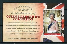 St Helena 2013 MNH Queen Elizabeth II Coronation 60th Anniv 1v M/S Stamps
