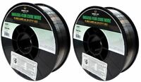 Made in USA (2 Rolls) K-NGS E71T-GS .035 in. Dia 10lb. Gasless-Flux Core Wire