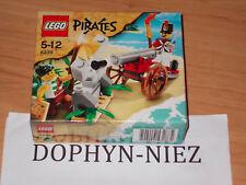 LEGO 6239 PIRATES CANON SOLDAT CORSAIRE 2 figurines NEUF NEW never OPEN NOEL