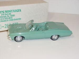 Vintage 1967 Chevy Impala Emerald Turquoise Dealer Promo Car Original W/Box!