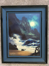 Roy Gonzalez Tabora 'When the Night Calls'- framed limited edition print