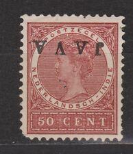 Nederlands Indie Netherlands Indies Indonesie 78f MLH JAVA KOPSTAAND 1908