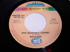 Days End: Our Brother's Keepers / Georgiana 45 - Evolution