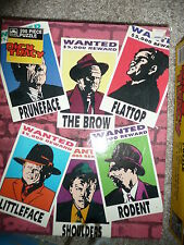 NEW VINTAGE  SUPER RARE HTF SEALED CHEAP DICK TRACY PUZZLE 2 KINDS 200 PCE READ