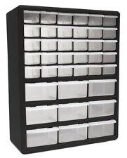 39-Drawer Plastic Parts Organizer Storage Compartment Bin Home Office Garage