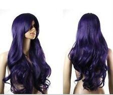Going cheap Card Captor Sakura Wig Purple Black Curls H71