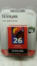 LEXMARK 26 Color Print Cartridge Ink 10N0026