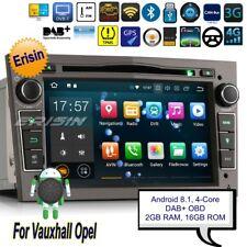 Android 8.1 DAB Autoradio Opel Astra Corsa Antara Tigra Vectra Navigatore 3860it