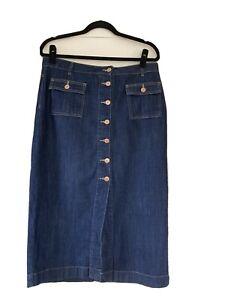 next denim skirt 14