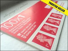 100 NEW  GENUINE  1ST CLASS STAMPS *SAVE* Self-Adhesive First Postage VALUE