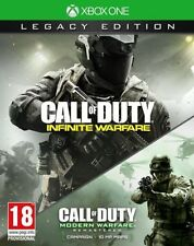 Call of Duty Infinite Warfare Legacy Edition COD MW Remastered Xbox One *NEW*