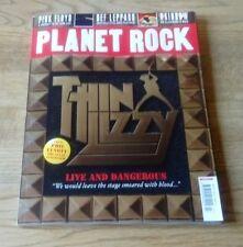 PLANET ROCK MAGAZINE ISSUE 7 THIN LIZZY, PINK FLOYD, DEF LEPPARD, RAINBOW