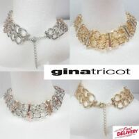 Wide Chain Women's Necklace Heavy Gold / Silver BY Gina Tricot UK SELLER