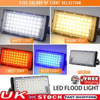 LED Security Floodlight 50W Flood Light Outdoor Garden Waterproof Lamp UK STOCK!