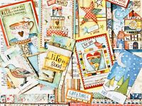 Scrapbook Papers, Americana Stamperia Papers & Vintage Book Pages, 75 Pieces #2