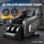 HOMASA 4D Electric Massage Chair Recliner Zero Gravity SL Track Shiatsu Heating