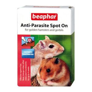 Beaphar Anti-Parasite Spot-On Hamster/Gerbil -Wormer Lice Fleas etc
