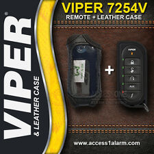 Viper 7254V 2-Way Remote Control Transmitter WITH Leather Case