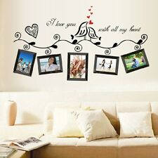 Family Photo Quote Removable Vinyl Art Wall Sticker Mural Decal DIY Wall Decor