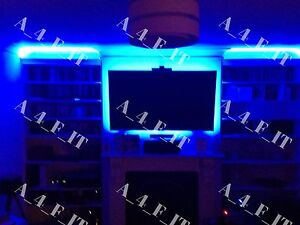Family Room Shelf Table LED Strip Lighting Complete Package Kit Lamp Light DIY !