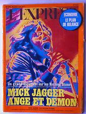 L'Express du 28/7/1975; Mick Jagger Ange et Demon/ La mafia au Canada/ Fahd