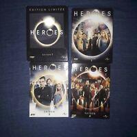 heroes intégrale de la série saisons 1 à 4 en 4 coffrets DVD