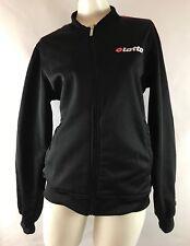 Lotto Italian Sport Design Women's Fleece Jacket Size M Full Zip Inner Pocket