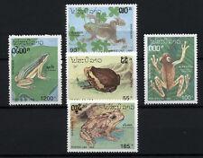 (W0190A) LAOS, U/M (MNH), 1993 FROGS