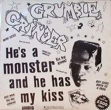 "GRUMBLE GRINDER - HE'S A MONSTER AND HE HAS MY KISS. /NrMINT. SCARCE 12"".. EP."