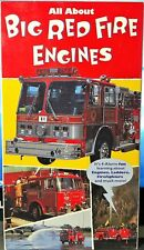 All About Big Red Fire Engines (VHS, 1995)