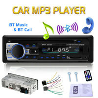 1 DIN MP3 Player Auto Radio USB/SD Bluetooth FM Stereo AUX-IN WMA Fernbedienung