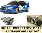 Subaru Impreza style RC Radio Remote Control Speed Car 1:16 Scale function Toy