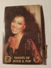 *RARE* DIANA ROSS PHONE CARD - GIANTS OF ROCK & POP