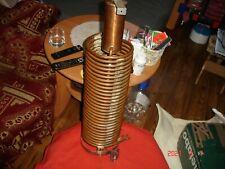 Fanless liquid PC Cooling Tower/Cooper coil condenser .Custom Handmade. DIY
