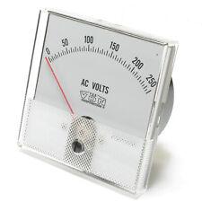 Panaview Analog Panel Meter, 0 - 250 Volt AC, 3 inch